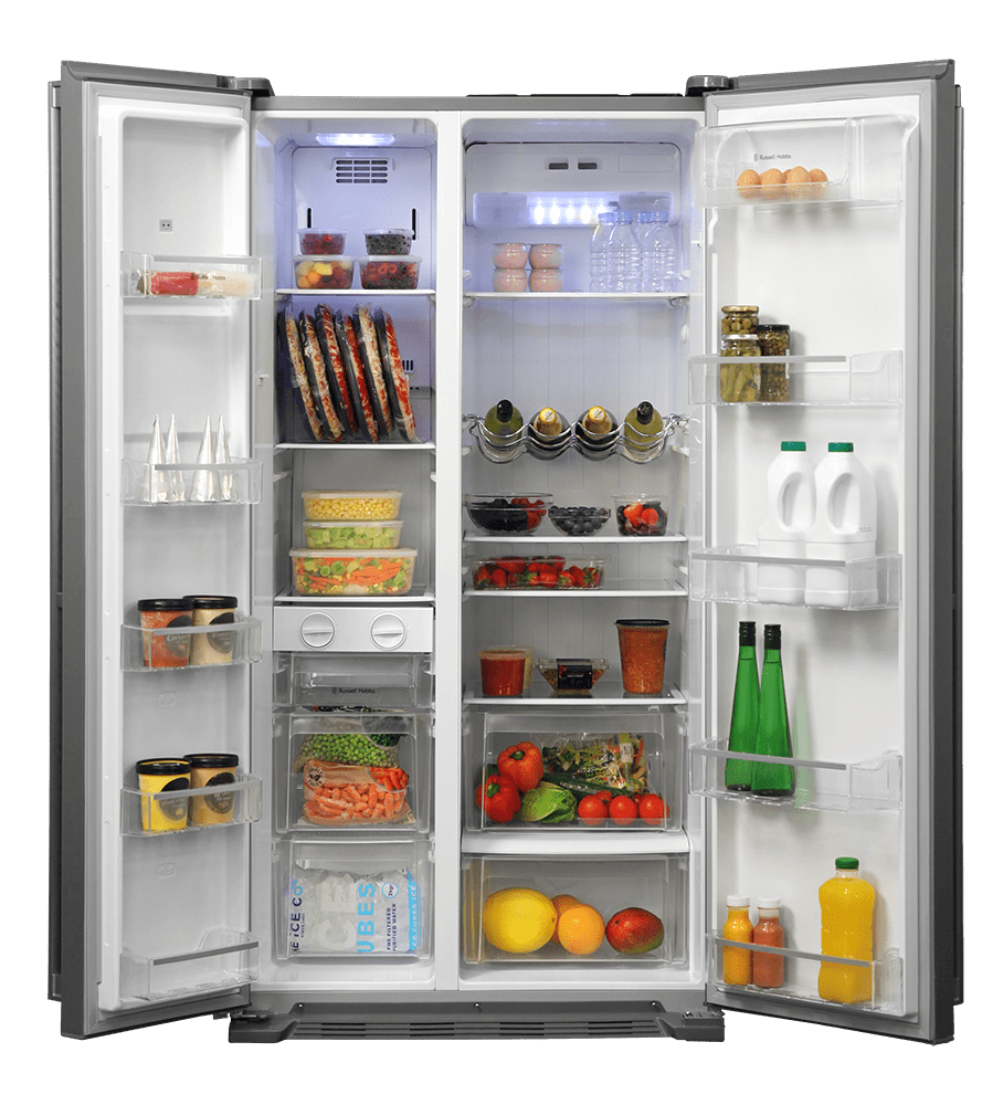 Opened Refrigerator disposal