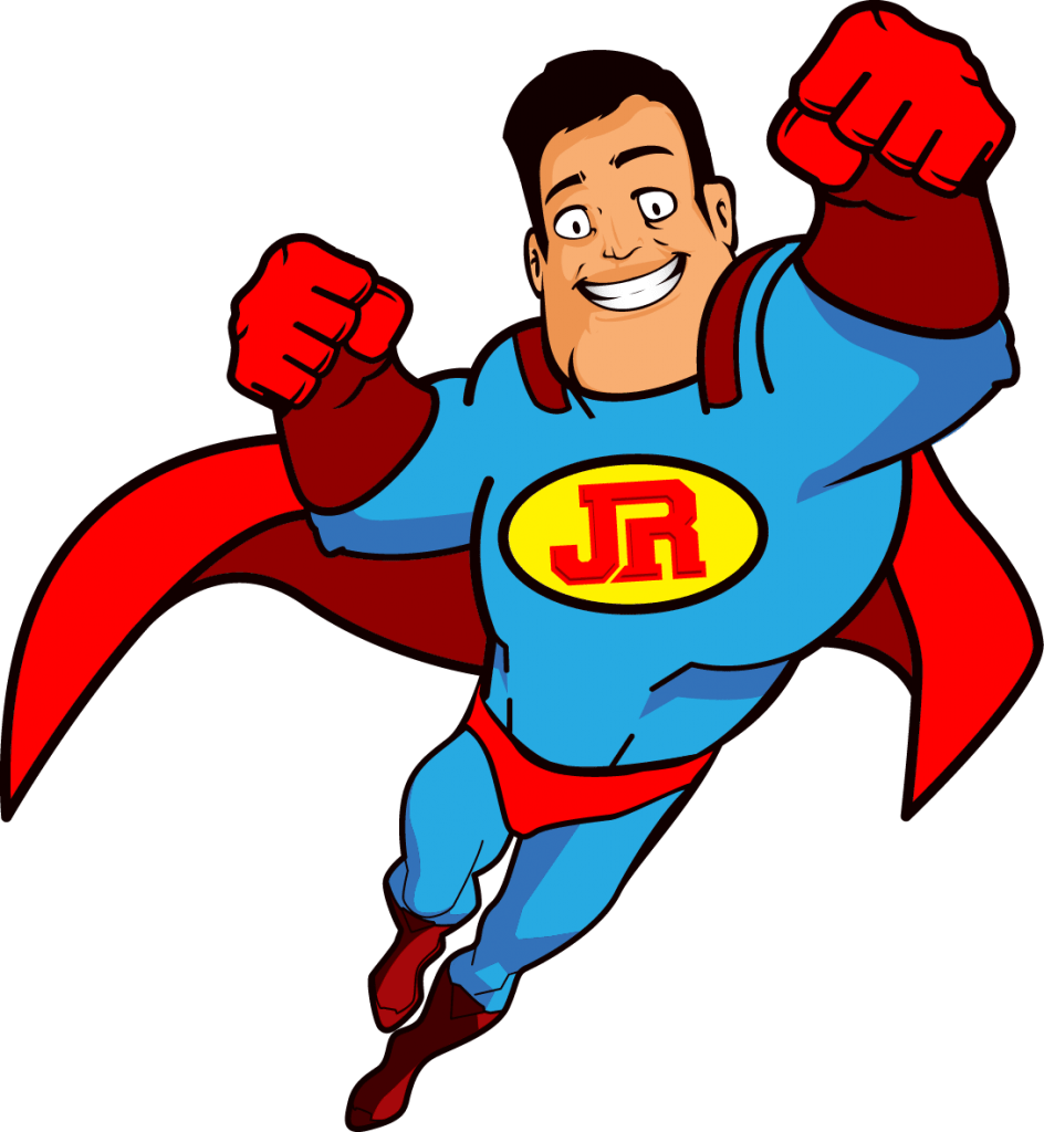 Junk Removal - Junk Rescue Super Hero