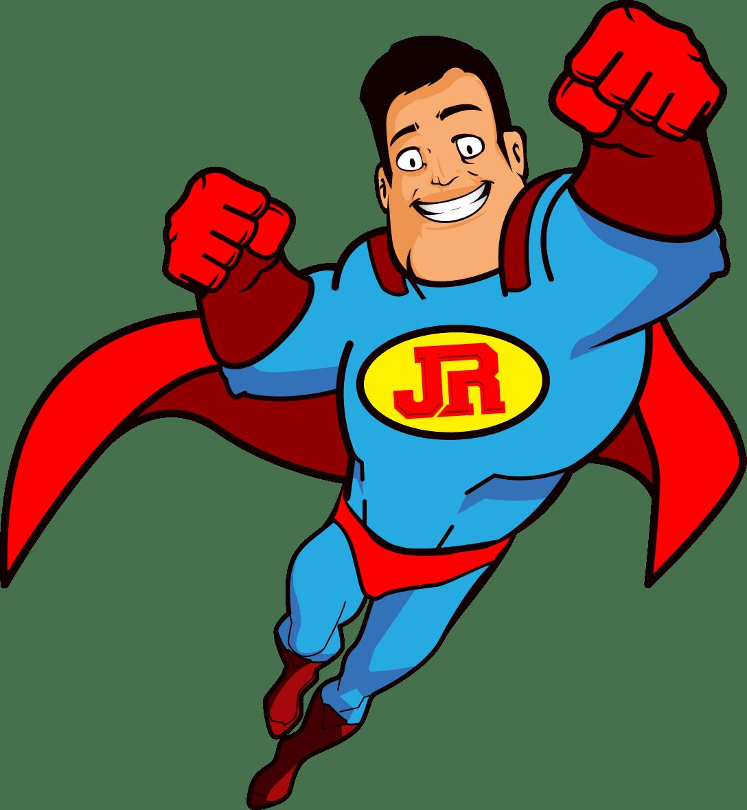 Junk Removal - Junk Rescue Super Hero